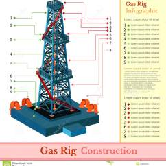 Z Rig Diagram Wiring Toyota 1jz Gte Vvti Oil Derrick Tower Or Gas Infographic Isolated On White