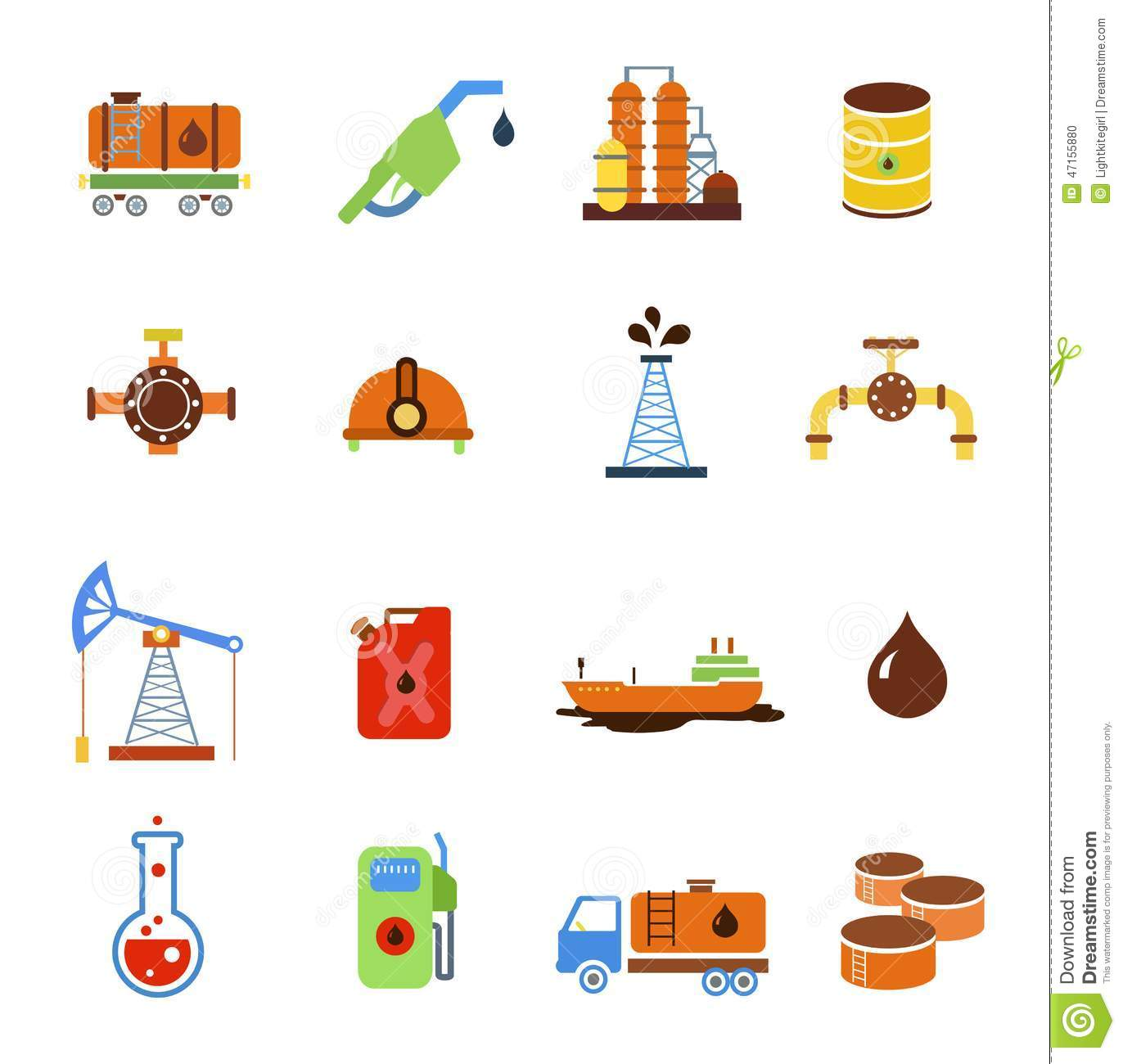 Oil Extraction Gas Production Transportation And Stock