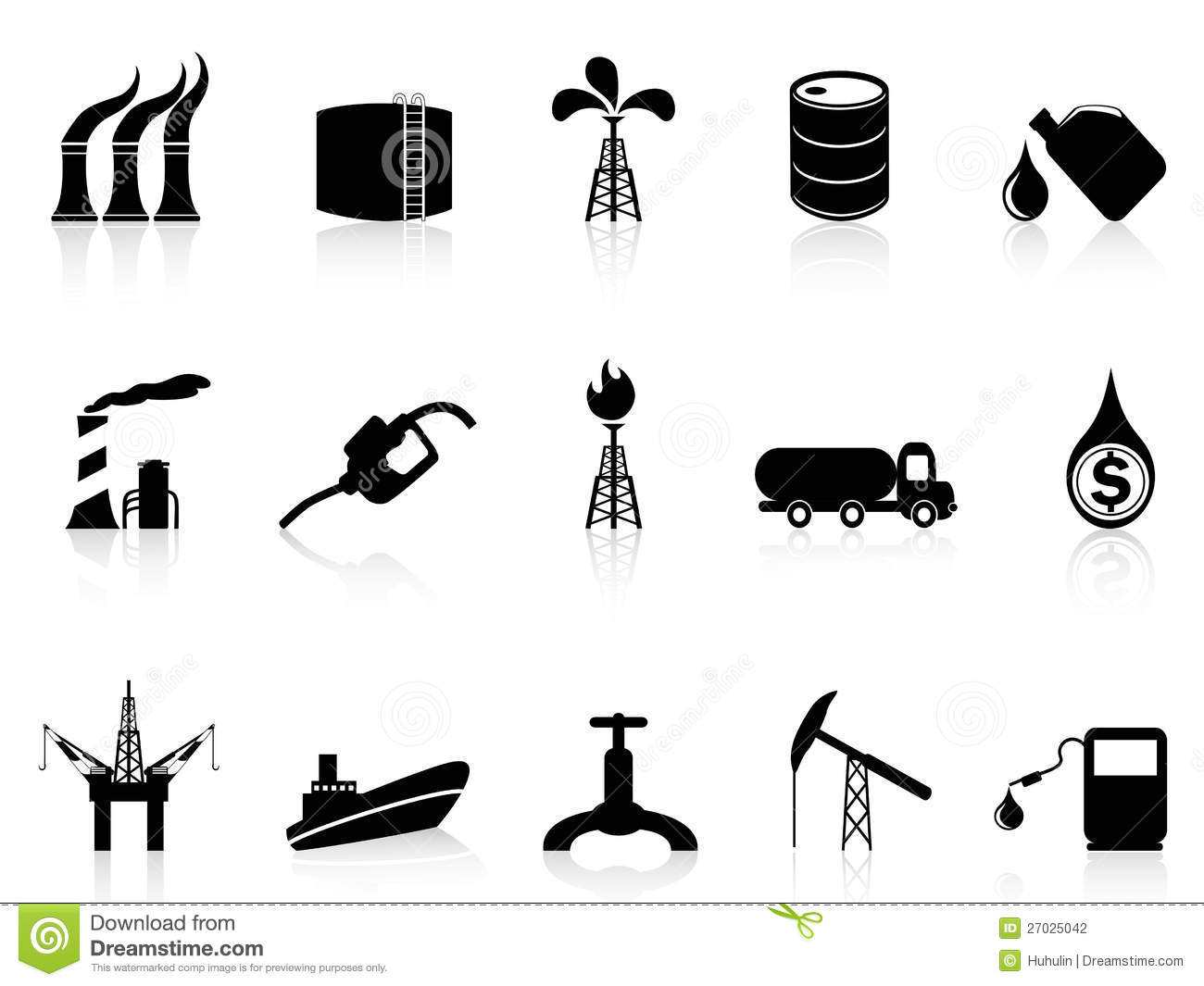 Oil Industry Icon Stock Vector Illustration Of Pipe