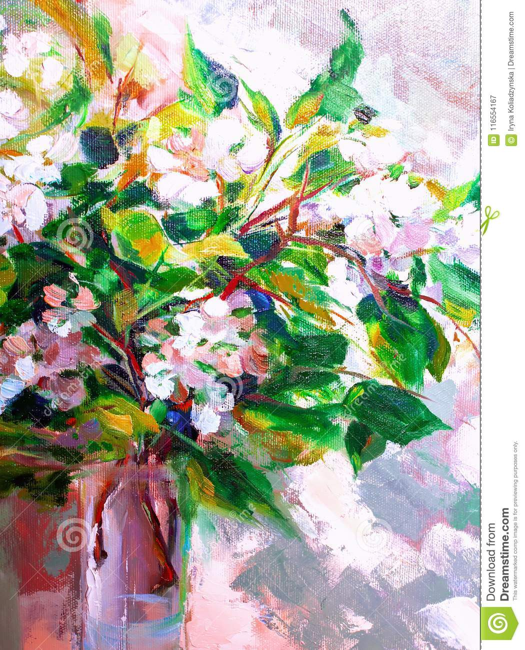 oil painting impressionism style