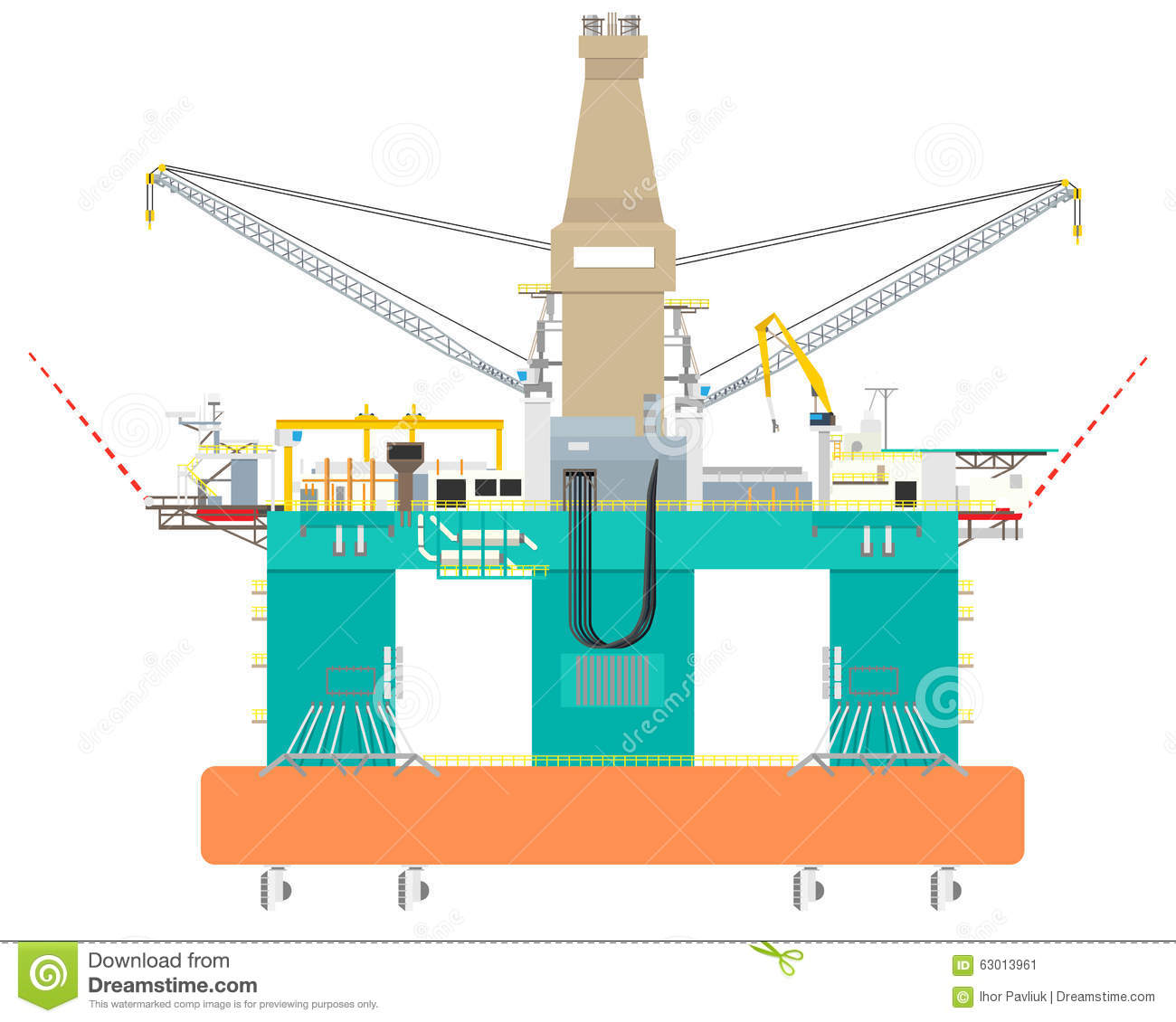z rig diagram frog external anatomy offshore oil construction radio wiring