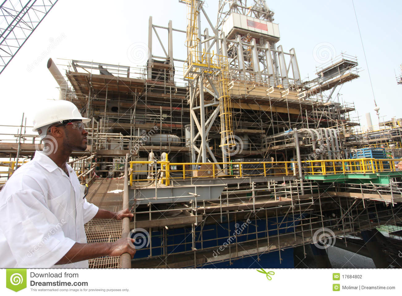 Oil Rig  Electrical Engineer Stock Photography  Image 17684802