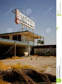 Old Abandoned Motel