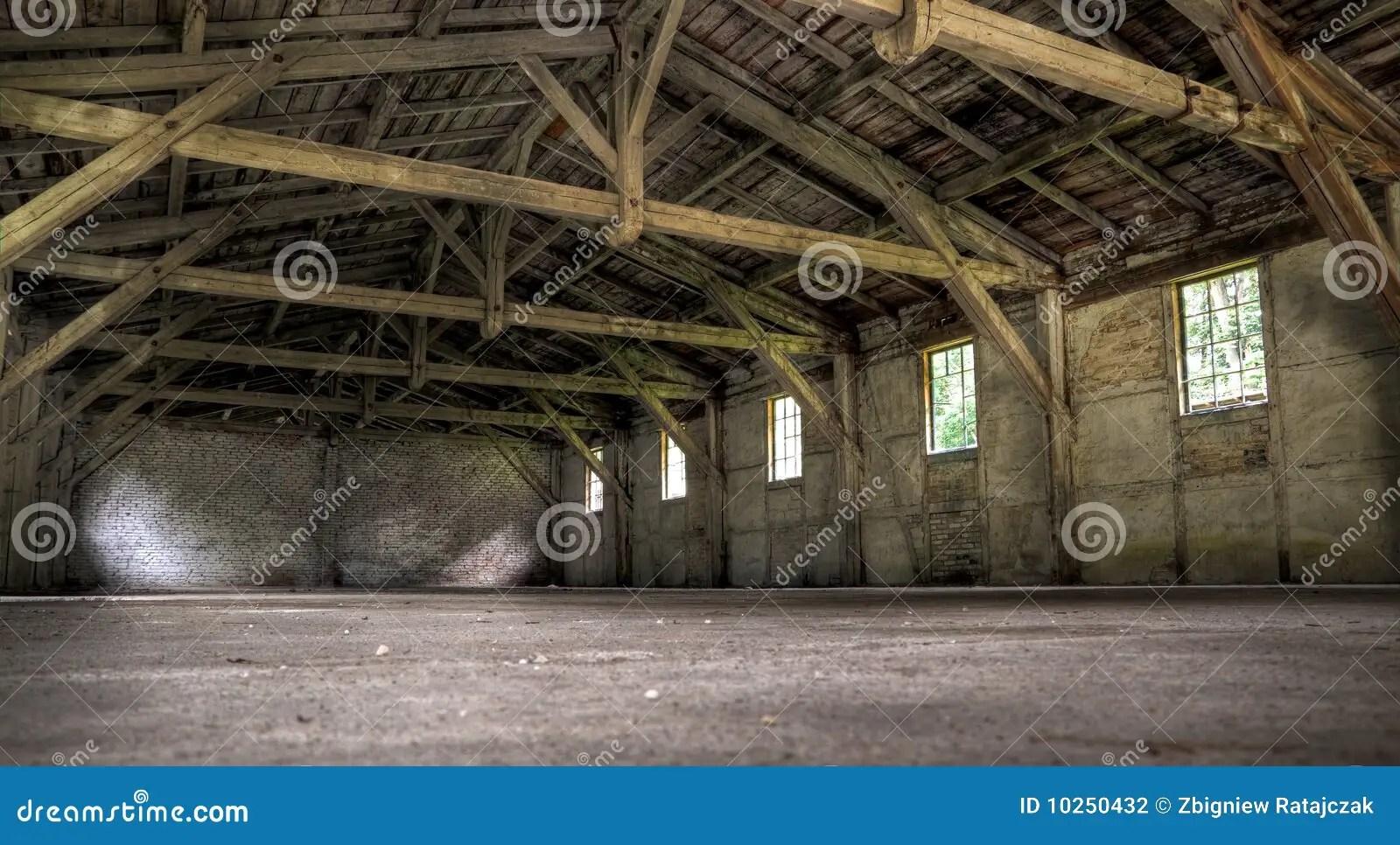 Old abandoned warehouse stock photo Image of abandoned