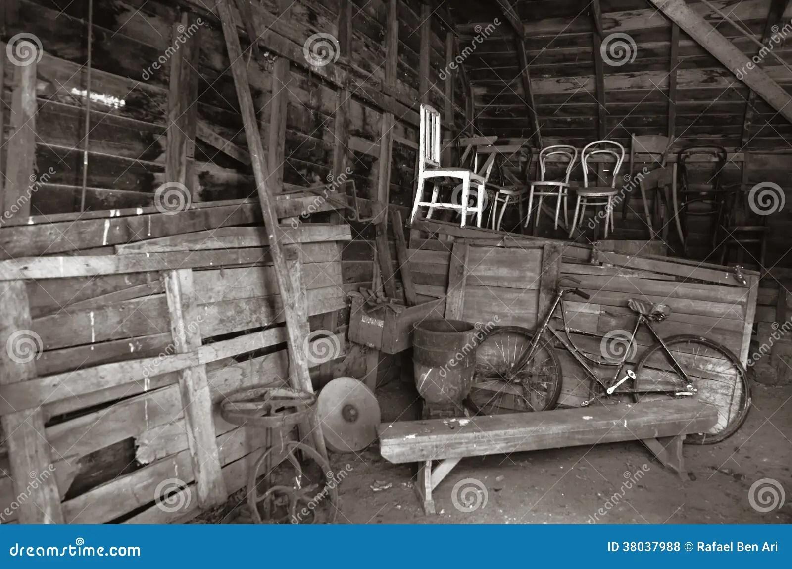 Old Barn Interior Royalty Free Stock Photos Image 38037988