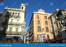 Old Buildings in Barcelona Spain