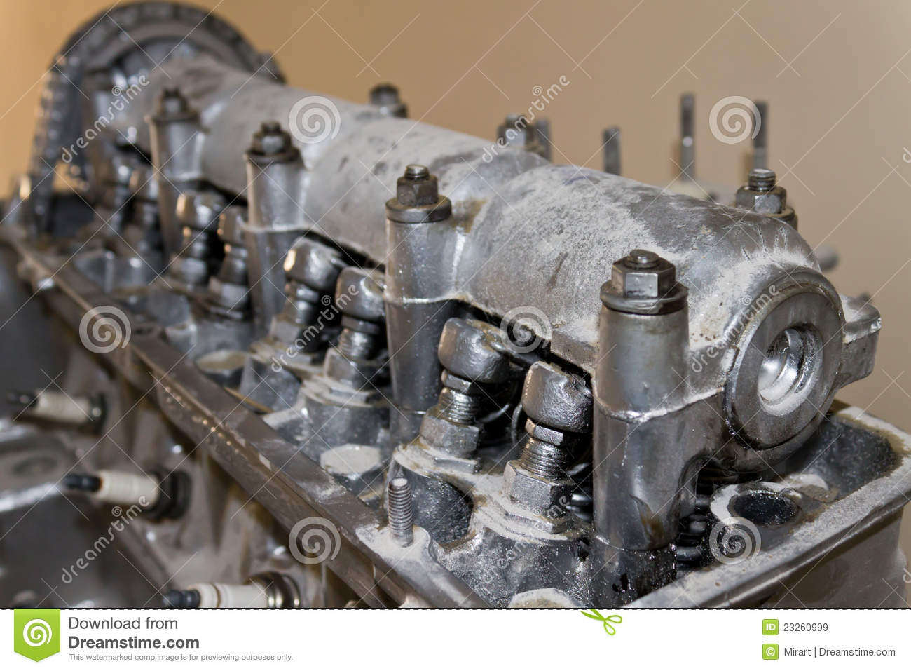 Old Car Engine Royalty Free Stock Images Image 23260999