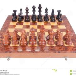 Chess Board Setup Diagram Harley Wiring Diagrams Simple Old Set Up To Begin A Game Royalty Free Stock