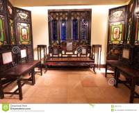 Old Chinese Living Room Editorial Image - Image: 20671170