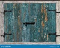 Old Cupboard Door Stock Illustration - Image: 49067038