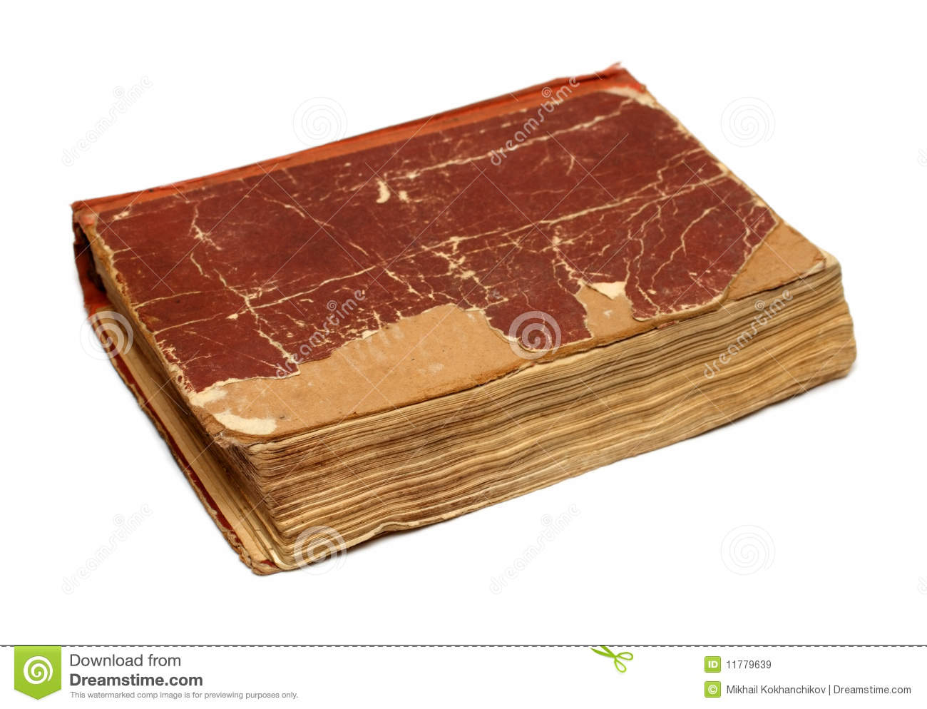 Old Damaged Book Royalty Free Stock Images  Image 11779639