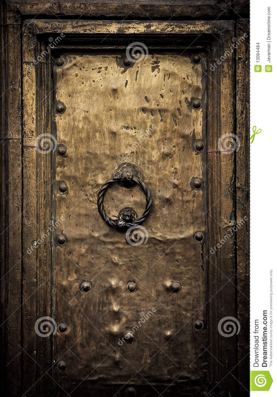 Old Door Rome Italy Stock Photo Image Of Front Entry 13084484