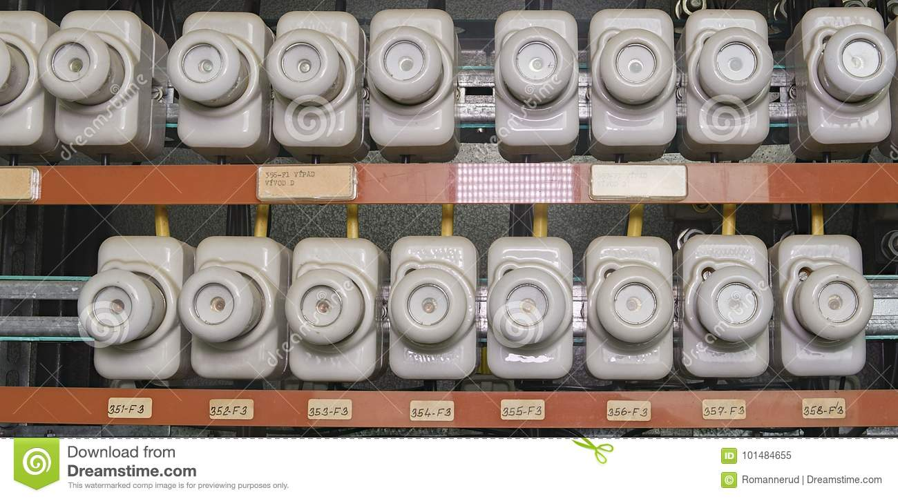 hight resolution of old electrical fuse box with porcelain fuses