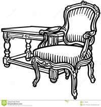 Chair Clip Art Antique Furniture  Cliparts