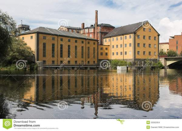 factory. industrial landscape