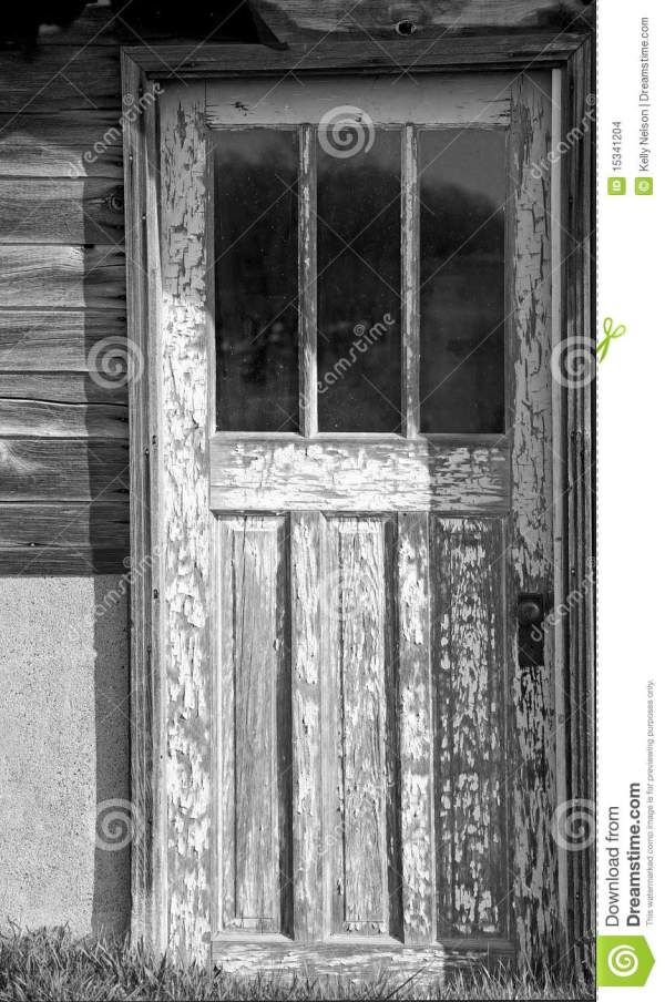Old Farmhouse Door Stock Images Image 15341204