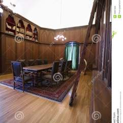 Library Chair Ladder Kids 3 Piece Table And Set Old Fashioned Home Royalty Free Stock Images - Image: 33901309