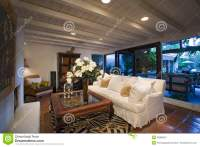 Old Fashioned Living Room In House Stock Image - Image ...