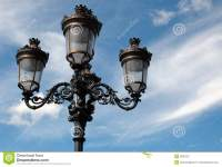 Old Fashioned Oil Street Lamp Stock Image - Image: 3836181