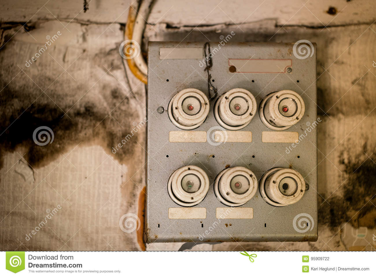 hight resolution of download old fuse box in an abandoned house stock photo image of power obsolete