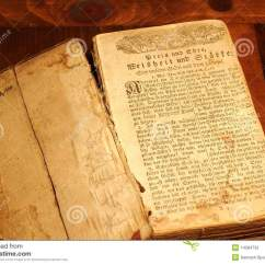 Kitchen Designers Microwave Cabinet Old German Prayer Book Stock Photography - Image: 14284732