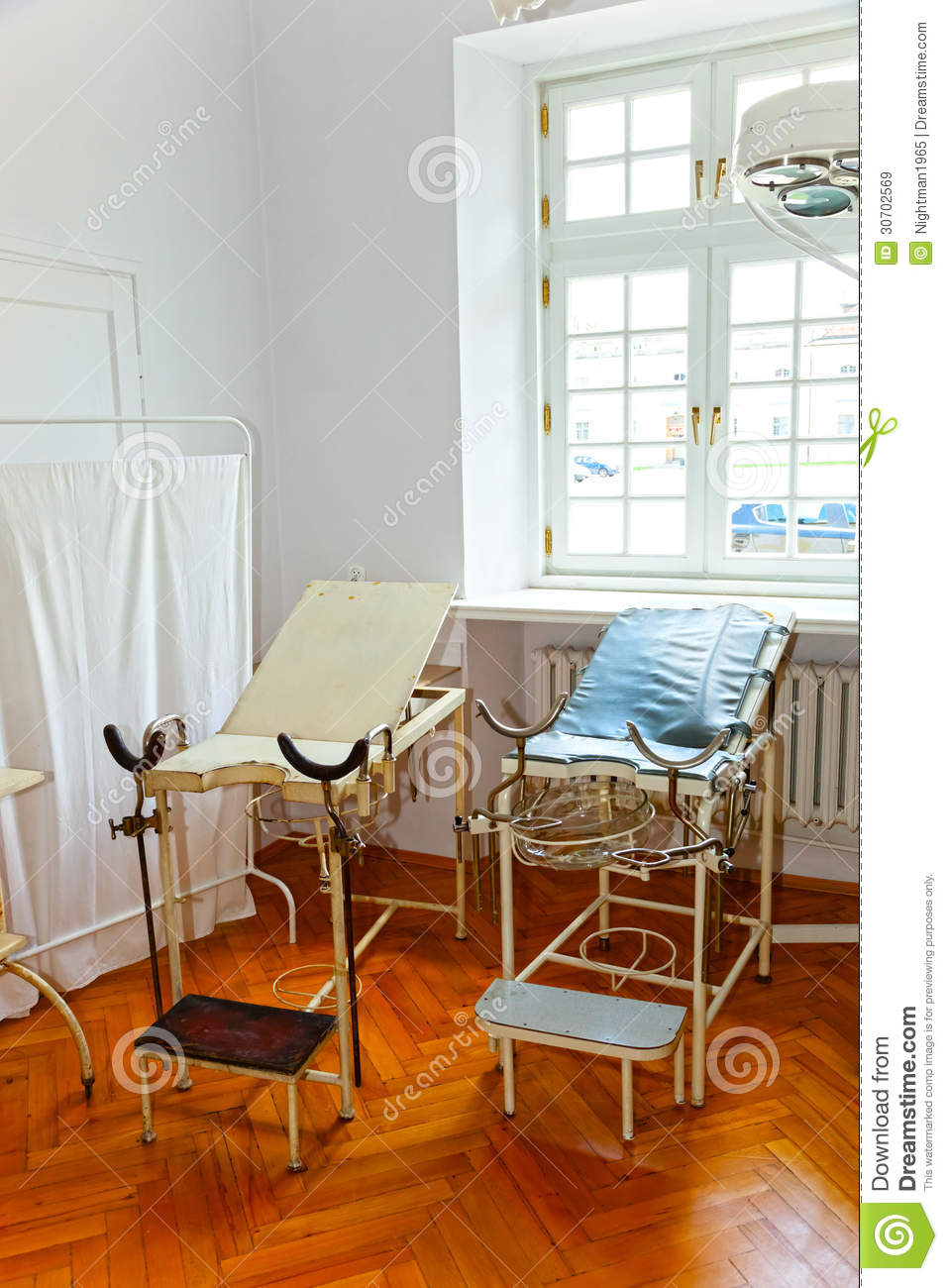 Old Gynecological Equipment Stock Image  Image of healthy