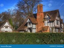 Old English Half-Timbered Houses