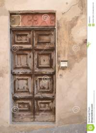 Old italian front door stock photo. Image of italy, ornate ...