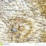 Old Map From Geographical Atlas 1890 With A Fragment Of The Apennines Italian Peninsula Central Italy Stock Image Image Of Frame Border 89583197