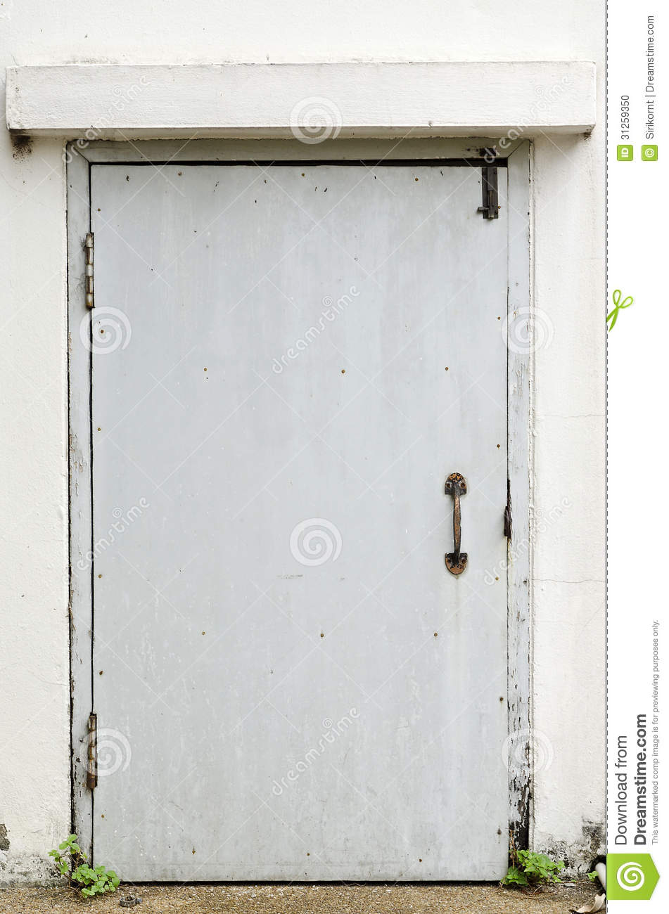 Old Metal Back Door Stock Photo Image Of Open Cathedral