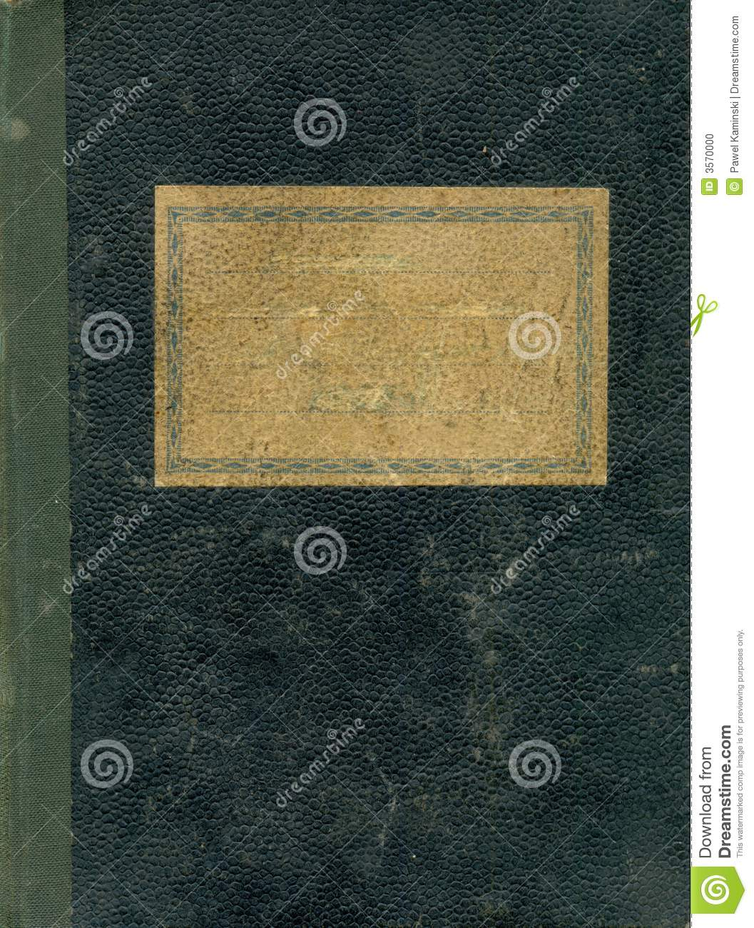 Old Notebook Cover Stock Photo Image Of Rough School 3570000