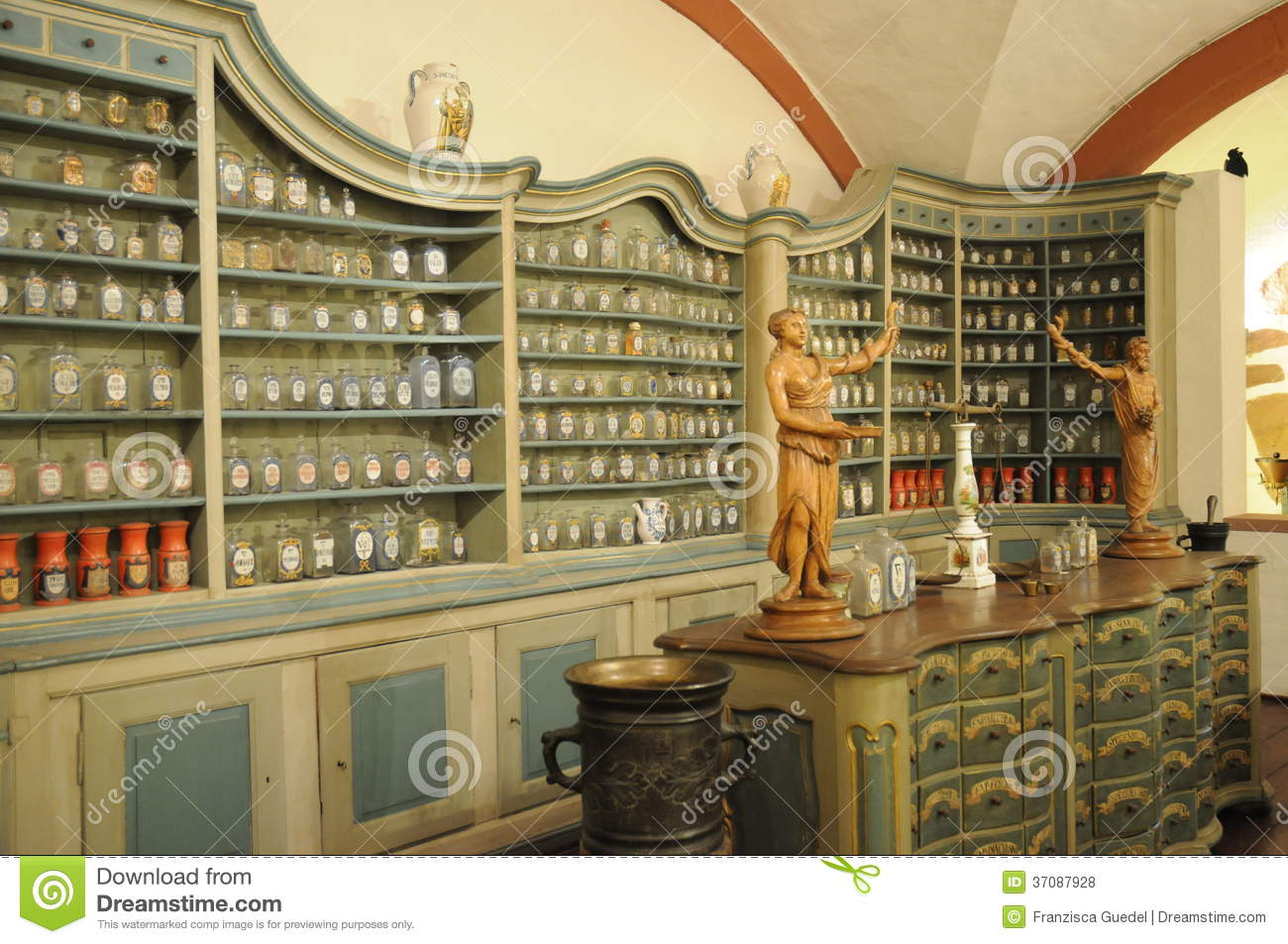 Old Pharmacy stock photo Image of chemistry apothecary