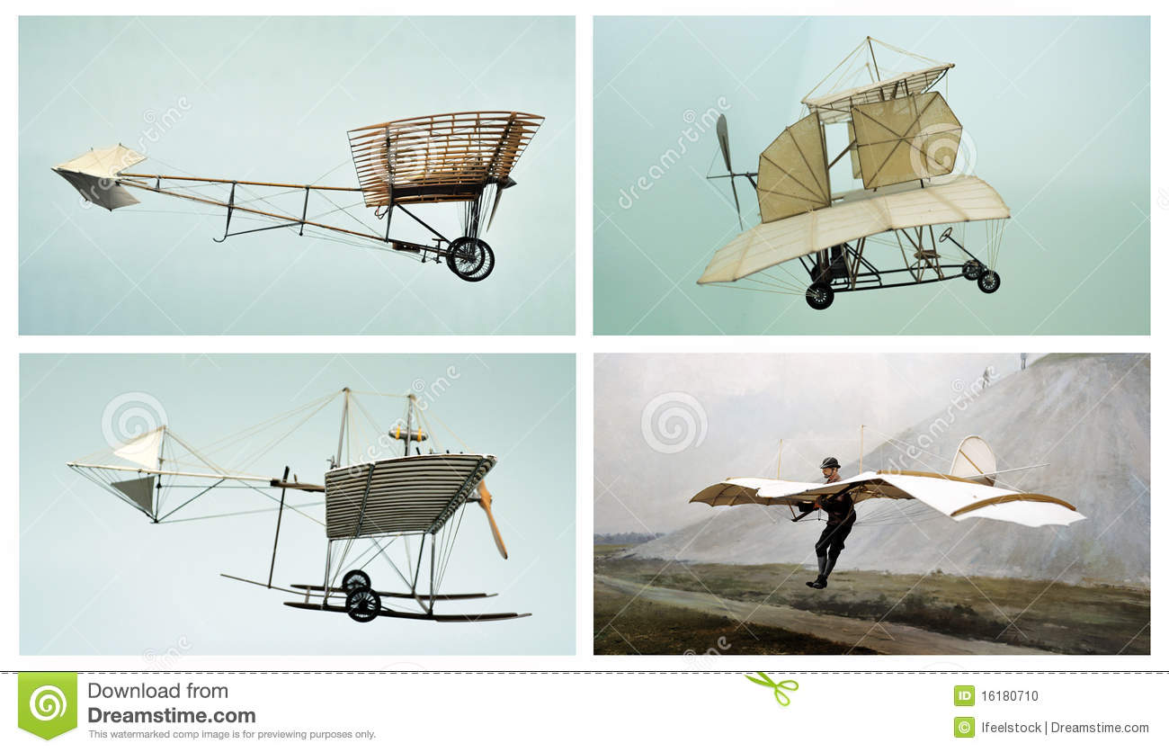 Old Planes Air Transport Collage Editorial Image  Image 16180710