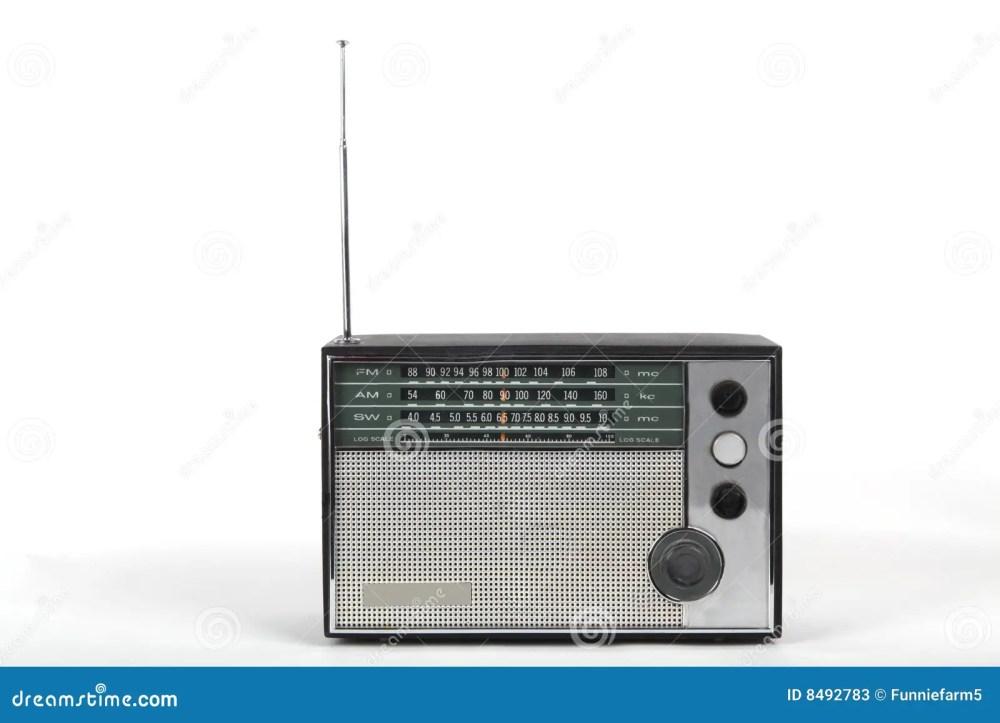 medium resolution of old portable radio