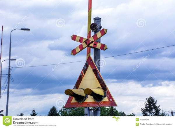 Cartoon Railroad Crossing Signs - Year of Clean Water