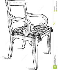 Old Rustic Chair Stock Vector - Image: 59356819