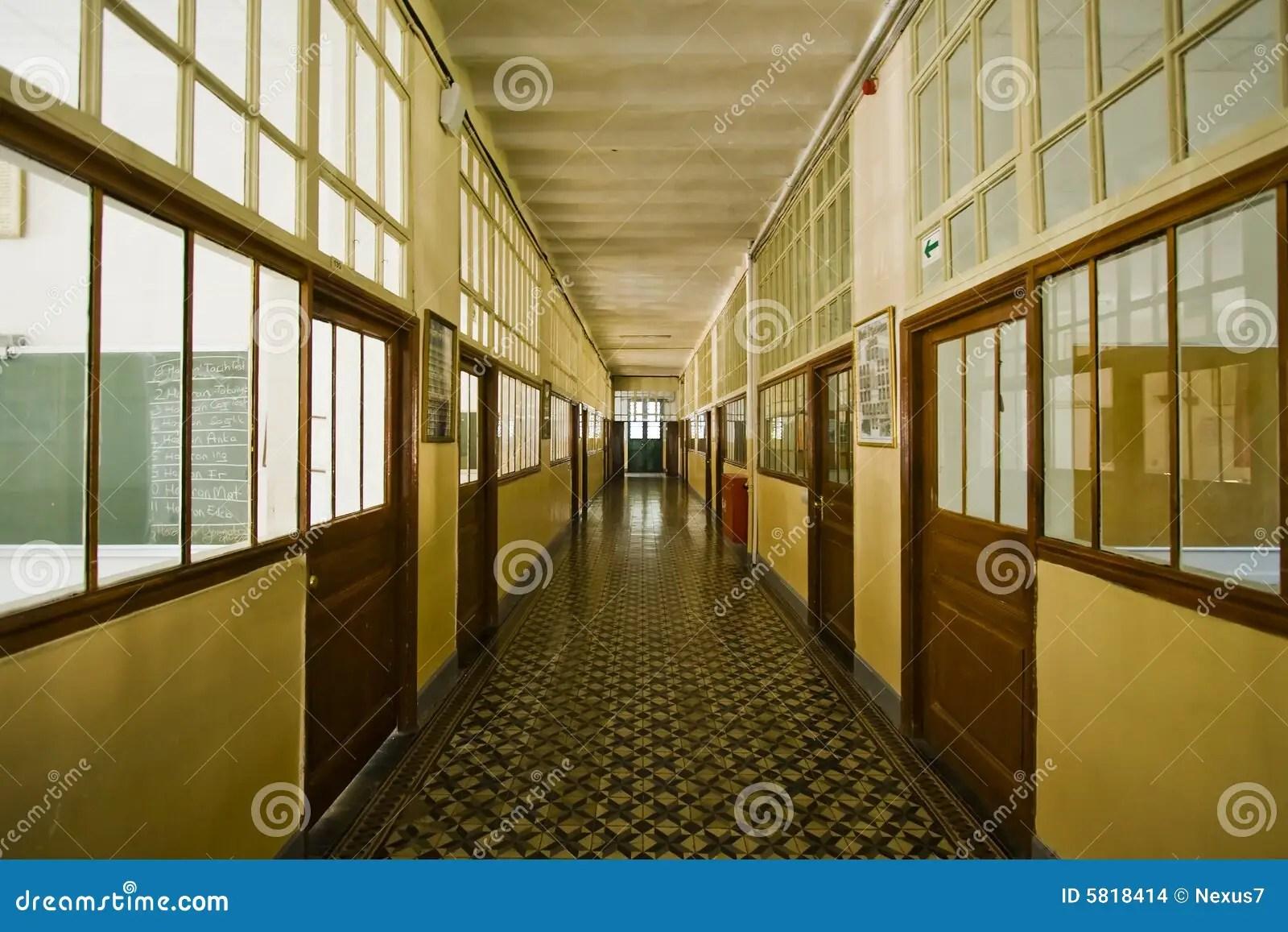Old School Corridor Stock Images  Image 5818414