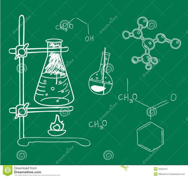 Old Science And Chemistry Laboratory Royalty Free Stock