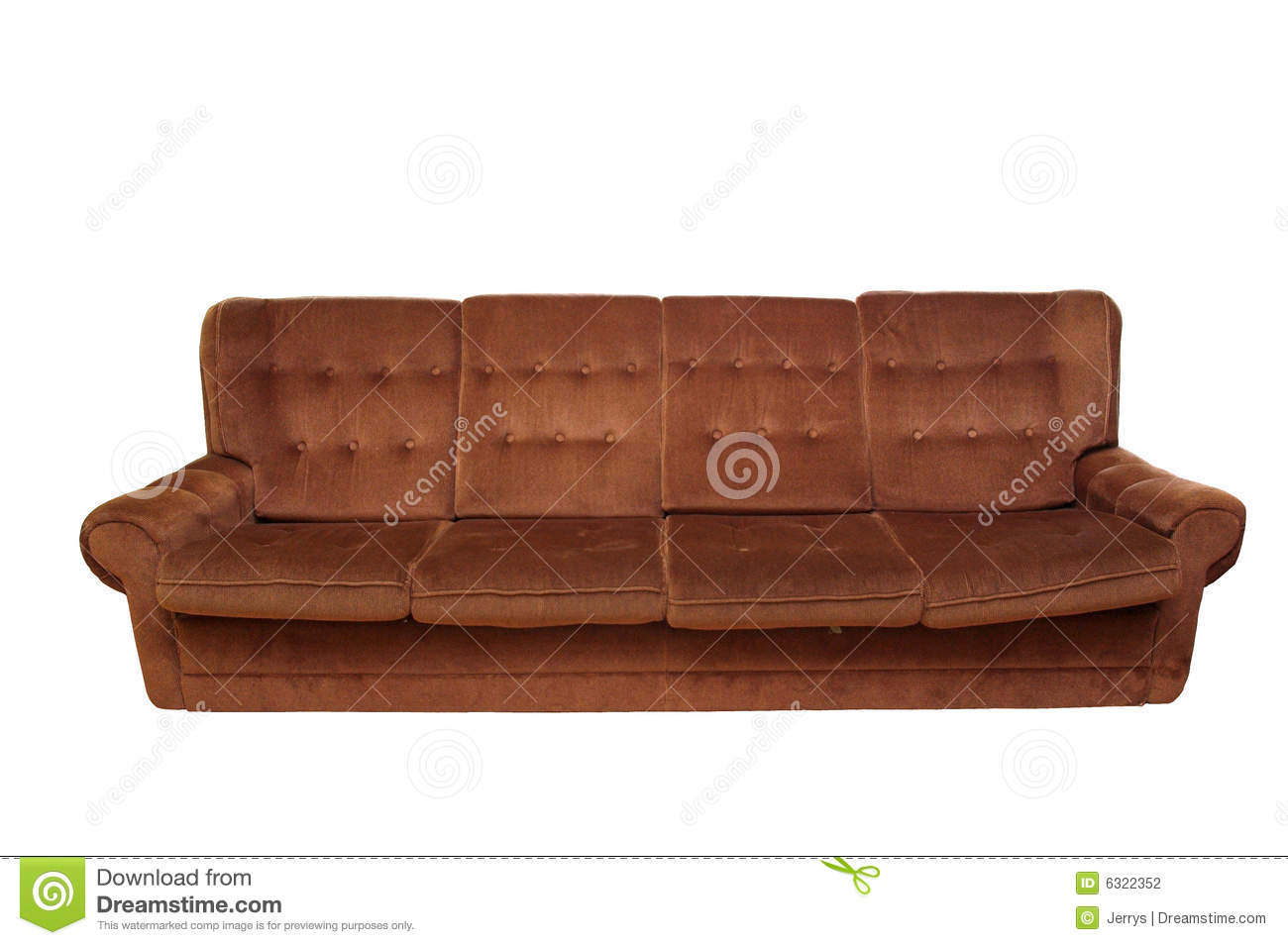 Old Sofa Stock Photography  Image 6322352