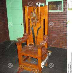 Electric Chair Was Invented By Xe Wheelchair Old Sparky Stock Photo Image 40653001