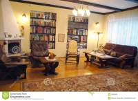 Old Style Living Room Stock Images