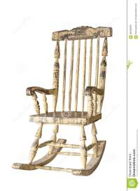 White Old Swing Chair Royalty-Free Stock Photo ...