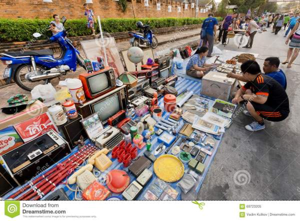 Televisions And Junk Street Flea