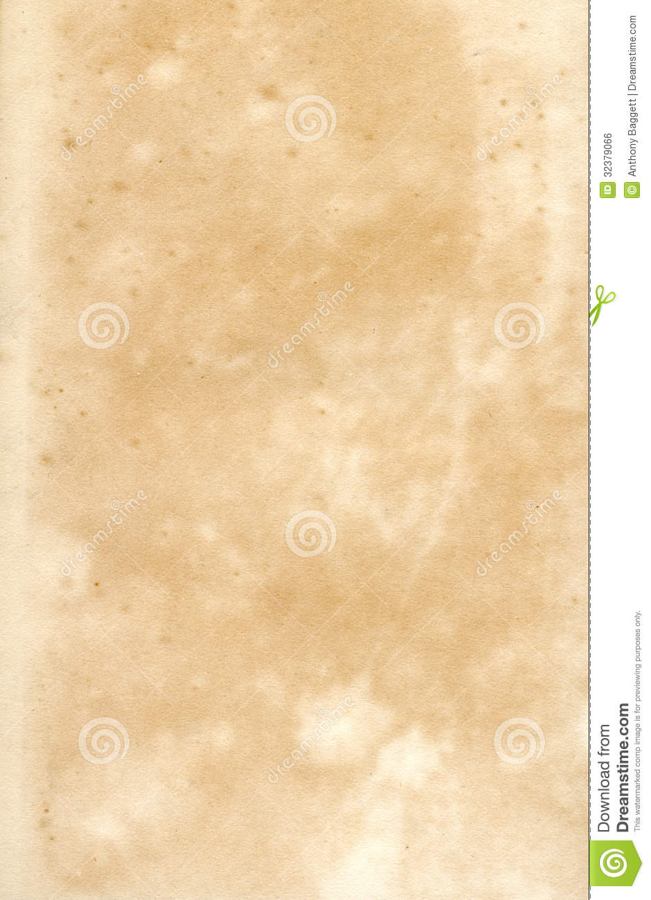 Old 19th Century Paper Stock Photo Image Of Distressed
