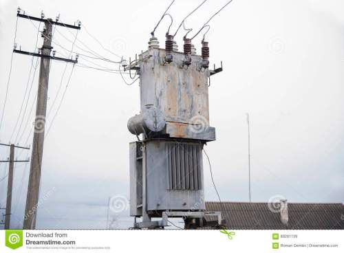 small resolution of old three phase power transformer