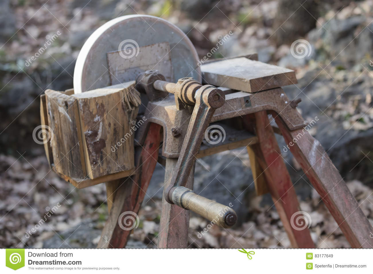 Old Tools In The Farm Stock Image Image Of Build Safety