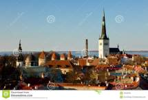 Town Of Tallinn Estonia Stock - 19433341