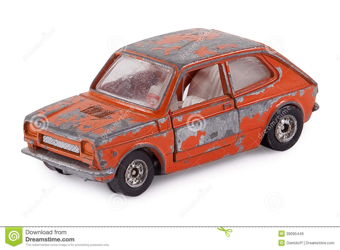 Old Toy Car Stock Image Image Of Collectible Dirty