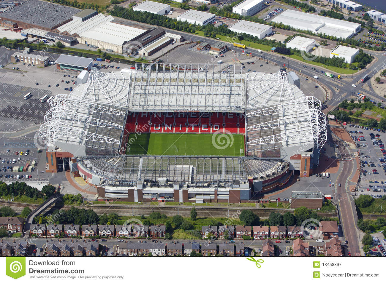 Old Trafford editorial photography. Image of soccer. premier - 18458897