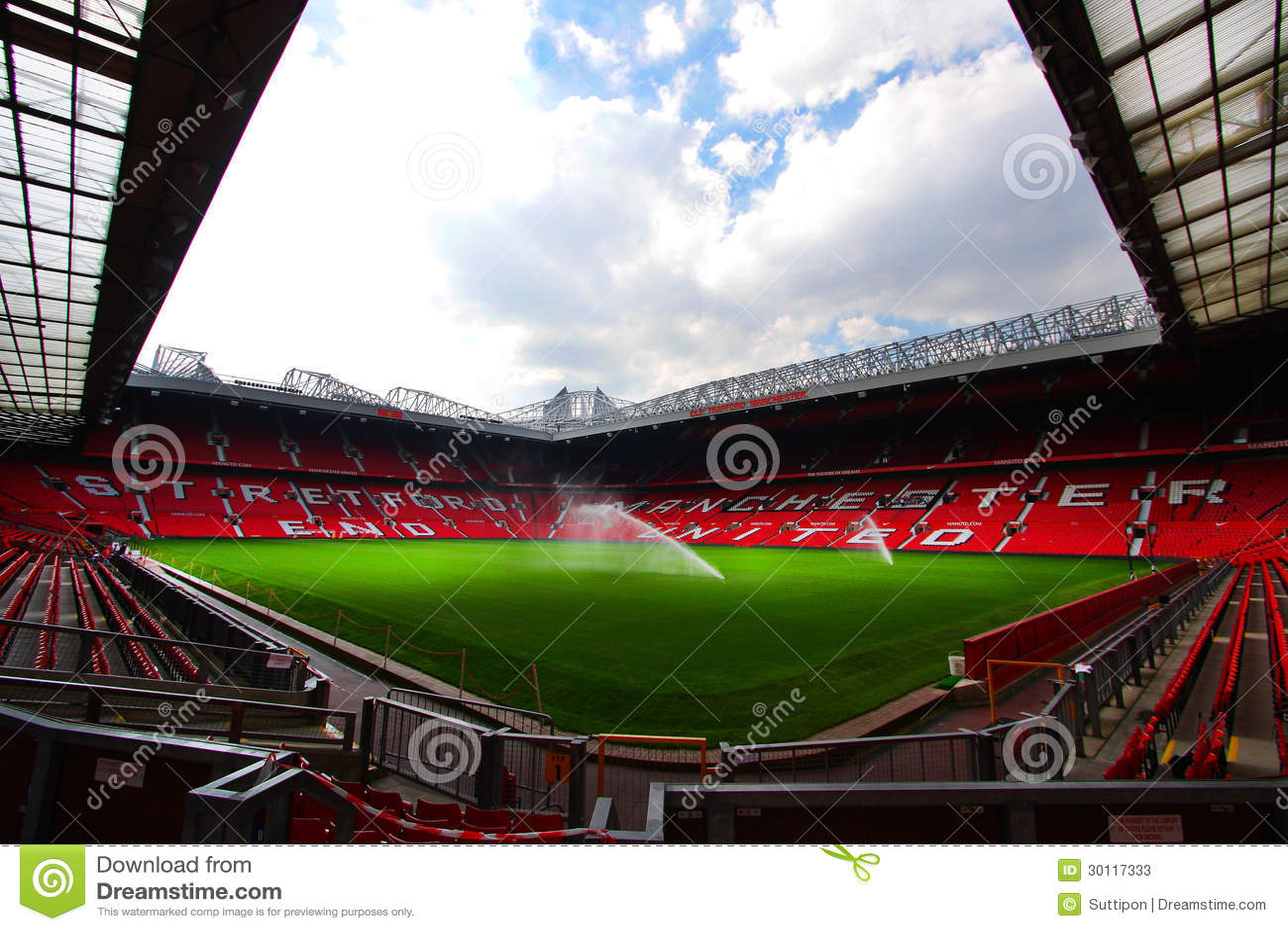 Old Trafford Stadium Editorial Stock Photo - Image: 30117333